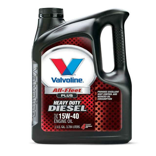 1 U.S. Gallon of Valvoline All-Fleet Plus Heavy Duty Diesel SAE 15W-40 Engine Oil