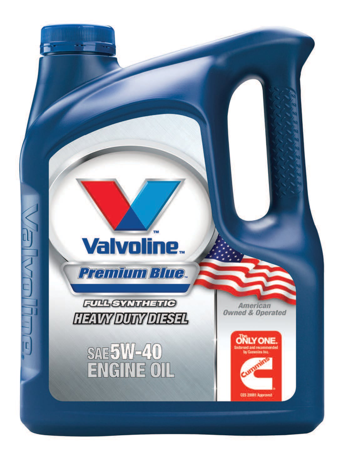 1 U.S. Gallon of Valvoline Premium Blue Extreme Heavy Duty Diesel SAE 5W-40 Synthetic Engine Oil