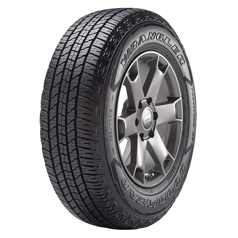 Tire Ratings Guide >> Goodyear Wrangler Fortitude HT™ Tire Reviews | Just Tires