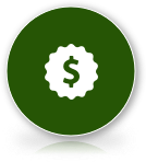 dollar savings symbol